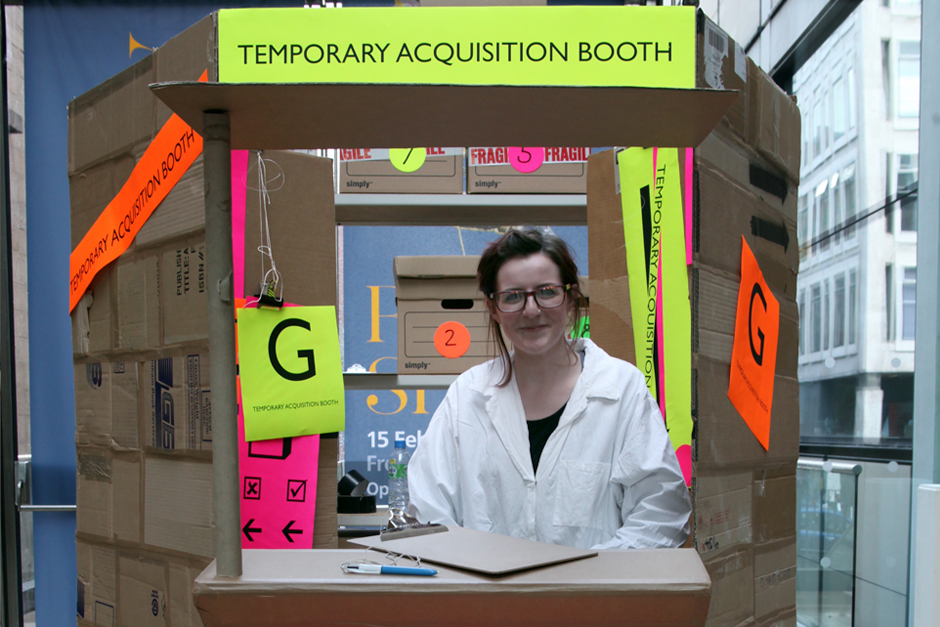 Temporary Acquisition Booth